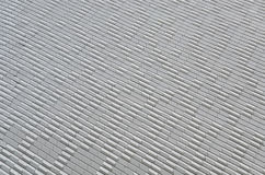 Aluminium claddingfasaddesign Arkivfoton
