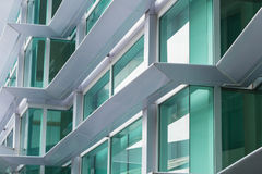 Aluminium composite material ACM Office building Royalty Free Stock Photos