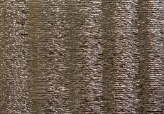 Aluminium corrugated foil Royalty Free Stock Image