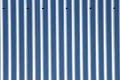Aluminium corrugated sheets Royalty Free Stock Photo