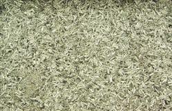 Aluminium cuttings background. Small aluminium cuttings background texture Royalty Free Stock Photo