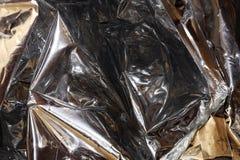 Aluminium d'or et argent? image libre de droits