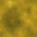 Aluminium d'or texture de luxe sans couture et de Tileable de fond Fond d'or froissé par vacances éclatantes Photographie stock