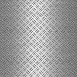 Aluminium Diamond Plate Background Stock Photos
