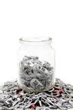 Aluminium for donate Royalty Free Stock Photos