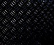 Aluminium donkere lijst met ruitvormen royalty-vrije stock afbeeldingen