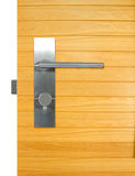 Aluminium door handle Royalty Free Stock Photo
