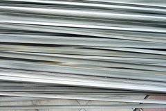 Aluminium empilé photographie stock