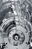 Aluminium engine Stock Images