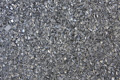 Aluminium filings Stock Image