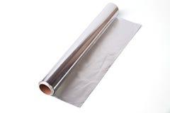 Aluminium foil Stock Photo