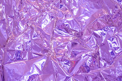Aluminium foil background Stock Photo