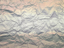 Aluminium foil background Stock Photo