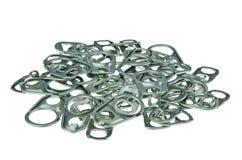 Aluminium handle one Stock Images