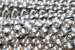 Aluminium helical strips Royalty Free Stock Images