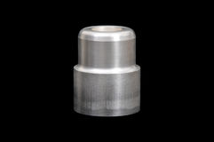 Aluminium industriële delen Royalty-vrije Stock Foto's