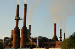 Aluminium industry. This industry is located in Shawinigan, Canada. Camera: Nikon D50 Stock Photos