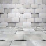 Aluminium Kafelkowy pokój Obraz Royalty Free