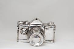Aluminium kamera Royaltyfria Bilder