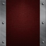 aluminium kasta i sig kolfiberram till Royaltyfria Bilder