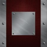 aluminium kasta i sig kolfiberramen till Royaltyfri Bild