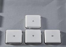 The aluminium  keyboard Stock Photos