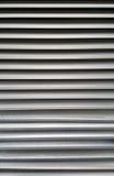 Aluminium louver texture. Grey aluminium louver texture (architectural material Stock Photography