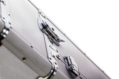 Aluminium luggage Stock Image