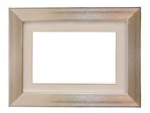 Aluminium metal frame Royalty Free Stock Image