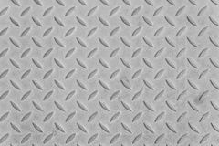 Aluminium metal list. Aluminium metal silver list with rhombus shapes Stock Photography