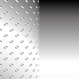 Aluminium Metal mesh background. Or texture Stock Image