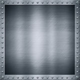 Aluminium metal plate Royalty Free Stock Photography