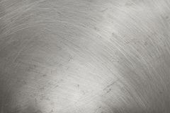 Aluminium metal texture background, scratches on polished stainless steel stock illustration