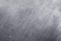 Aluminium metal texture background, scratches on stainless steel.  royalty free stock photo