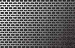 Aluminium modell för metalltexturbakgrund Royaltyfri Illustrationer