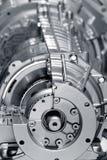 aluminium motor Arkivbilder