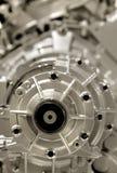 aluminium motor arkivfoton