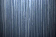Aluminium ondulé Photos libres de droits