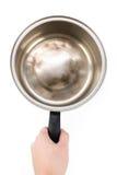 Aluminium pan Royalty Free Stock Images
