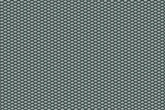 Aluminium Pentagon Texture. A pattern/texture of aluminium with pentagon shapes embedded in it royalty free stock photos