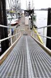 Aluminium pier Stock Images