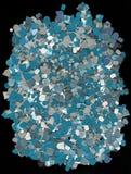 Aluminium-plastieken schroot Stock Afbeelding