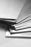 Aluminium plates royalty free stock photo