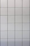 aluminium plates väggen Royaltyfria Foton