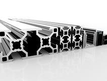 Aluminium Profile Stock Photography
