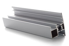 Aluminium profile sample Stock Images