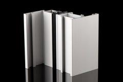 Aluminium profile sample Stock Image
