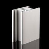 Aluminium profile sample Royalty Free Stock Image