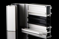 Aluminium profile sample Stock Images