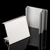 Aluminium profile sample Stock Photography